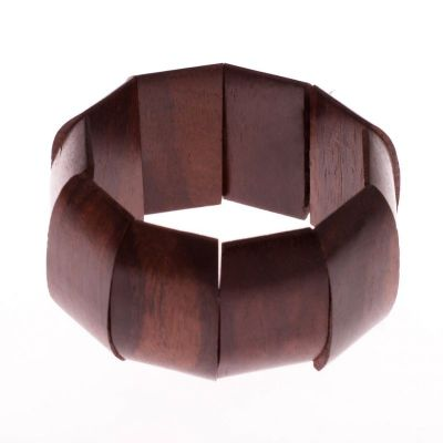 Bracciale in legno Jantan Jati