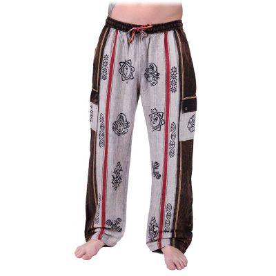 Pantaloni Gambar Grigio