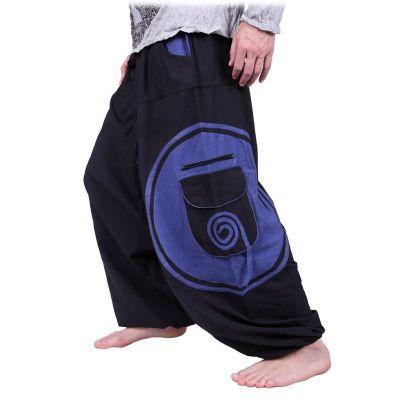 Pantaloni Bersulur Biru