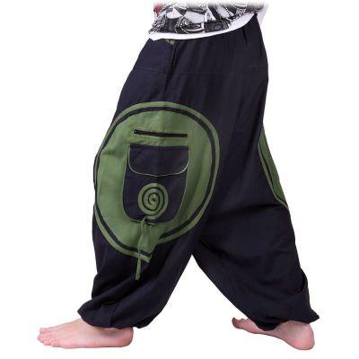 Pantaloni Bersulur Hijau