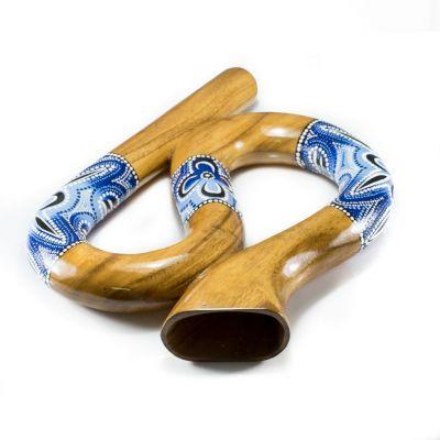 Didgeridoo serpentino - blu