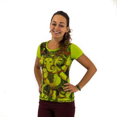 T-shirt da donna Ganapati Green
