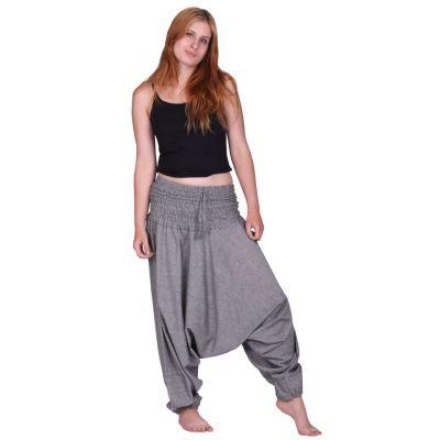 Pantaloni harem Kelabu Jelas | UNISIZE