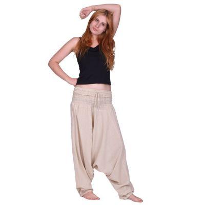 Pantaloni harem Putih Jelas | UNISIZE
