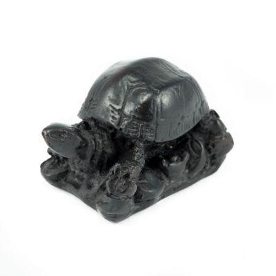 Statuetta Tartaruga piccola con base