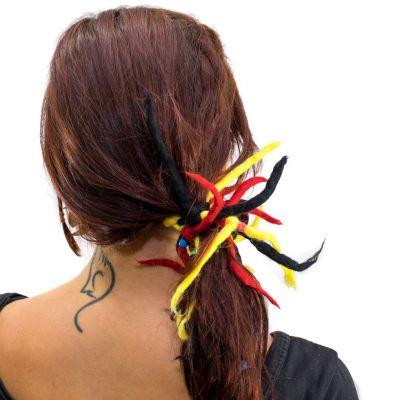 Dreadlocks Rosso-giallo-nero