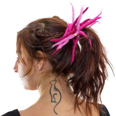 Dreadlocks rosa