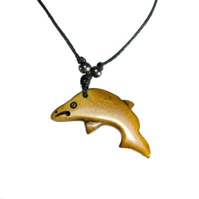 Bone Pendant Dolphin - semplice