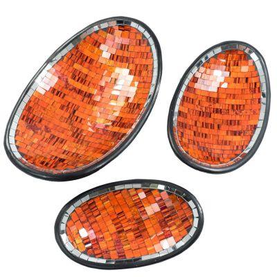 Ciotola Berkilau Orange, ovale