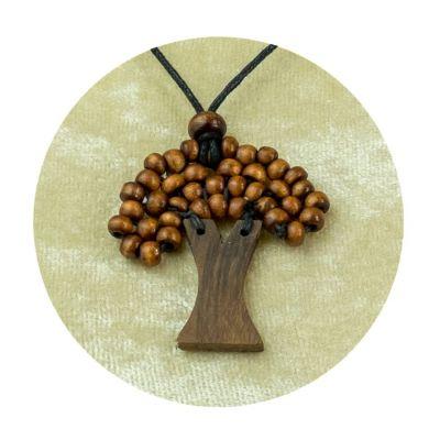 Albero a sospensione in legno - marrone | piccolo