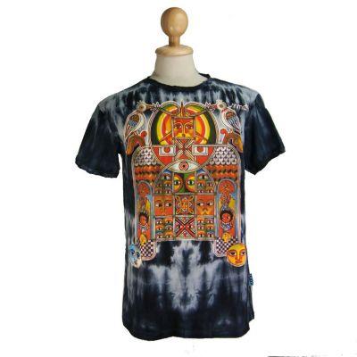 T-shirt Aztec Day&Night Black