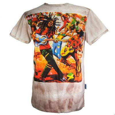 Maglietta Bob Marley Brown