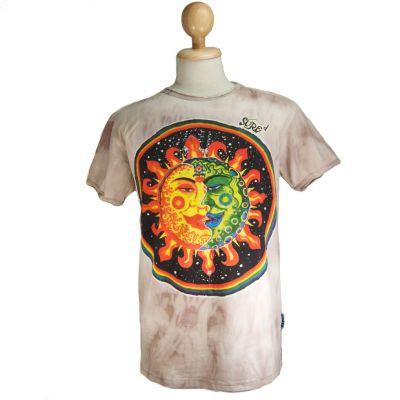 T-shirt Celestial Emperors Marrone