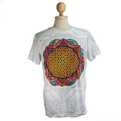 T-shirt Flower of Life White