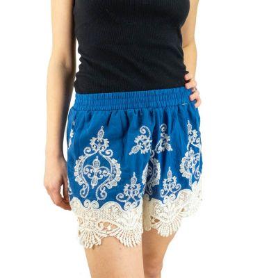 Pantaloncini di pizzo da donna Aom Biru   UNISIZE (è uguale a S/M)