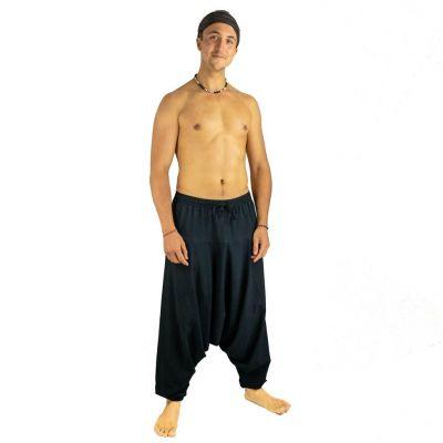 Pantaloni in cotone Alibaba Badak Hitam | UNISIZE