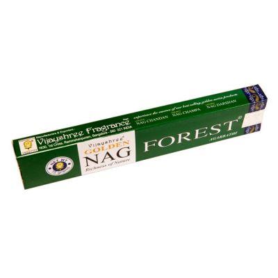 Incenso Golden Nag Forest   Confezione 15 g, Scatola da 12 pacchetti al prezzo di 10