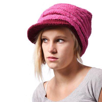 Cappello di lana Bhatti rosa