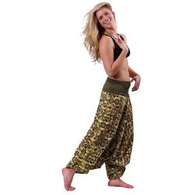 Pantaloni harem Subas Hijau