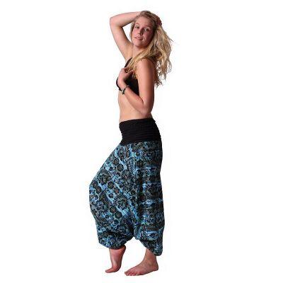 Pantaloni Harem Subas Turchese | UNISIZE