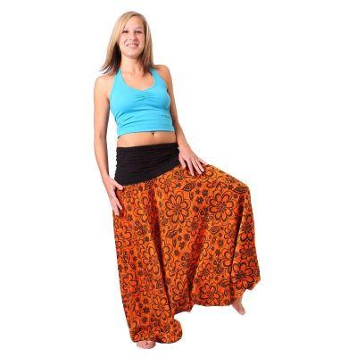 Pantaloni harem Bunga Jingga