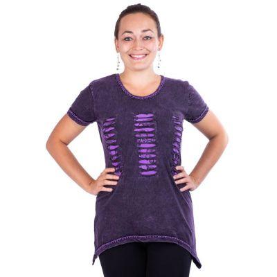 T-shirt da donna a maniche corte Ehani Ungu | S, M, L, XL, XXL