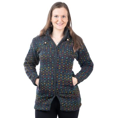 Maglione di lana da donna Rainbow Hearts   S, M, L, XL, XXL