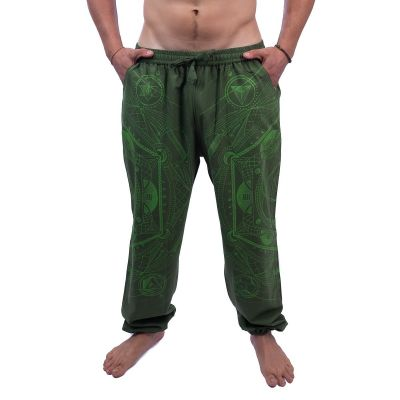 Pantaloni Jantur Hijau