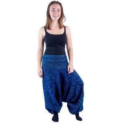 Pantaloni in alibaba acrilico Jagrati Indigo   UNISIZE