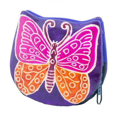 Portafoglio Butterfly - viola