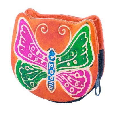 Portafoglio Butterfly - arancione