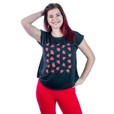 T-shirt Darika Angurie Nera