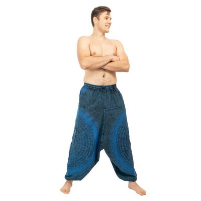 Pantaloni Amir Biru