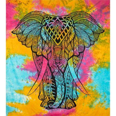Copriletto Big Elephant - multicolore