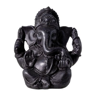 Statuetta Black Ganesh