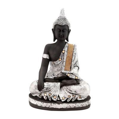 Statuetta in argento Buddha