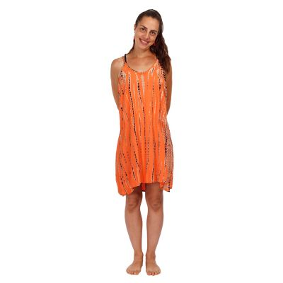 Abito batik Gajra Orange   UNI