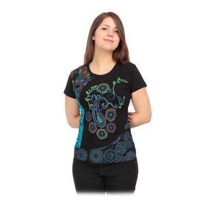 T-shirt etno da donna con maniche corte Maridah | S, M, L, XL, XXL