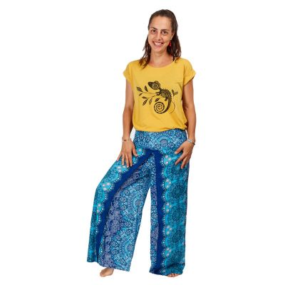 T-shirt donna manica corta Darika Chameleon Yellow | UNI