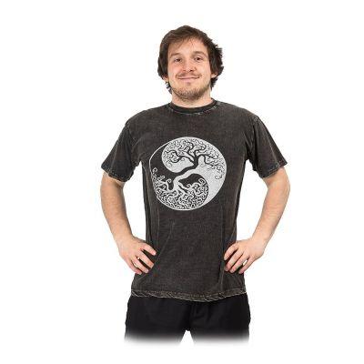 Maglietta da uomo Yin&Yang Tree Black | M, L, XL, XXL
