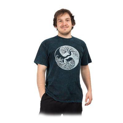 Maglietta da uomo Yin&Yang Tree Blue | M, L, XL, XXL