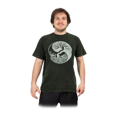 Maglietta da uomo Yin&Yang Tree Green | M, L, XL, XXL