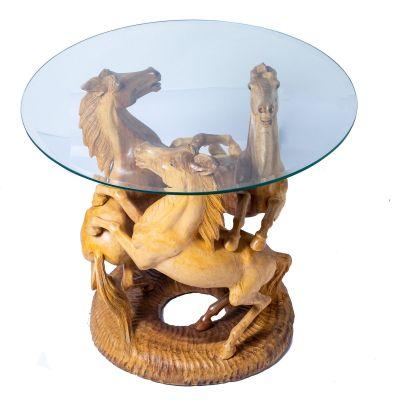 Tavolo da tè Tre cavalli