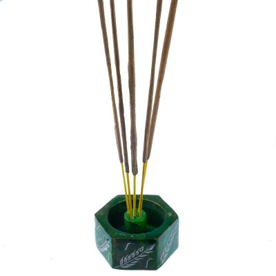 Porta incenso Corn Spikes - verde