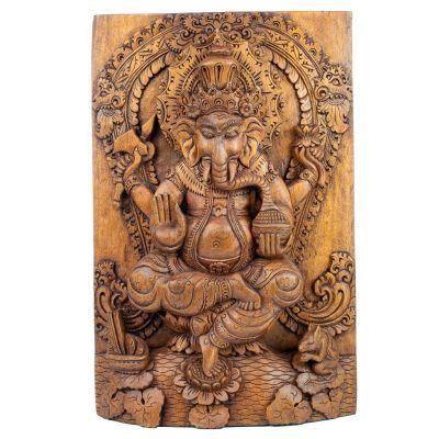 Intaglio del legno Ganesha