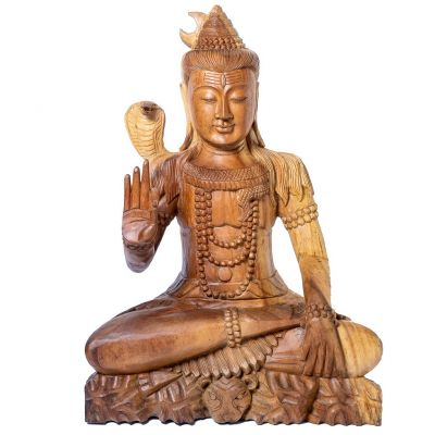 Statua seduta Shiva