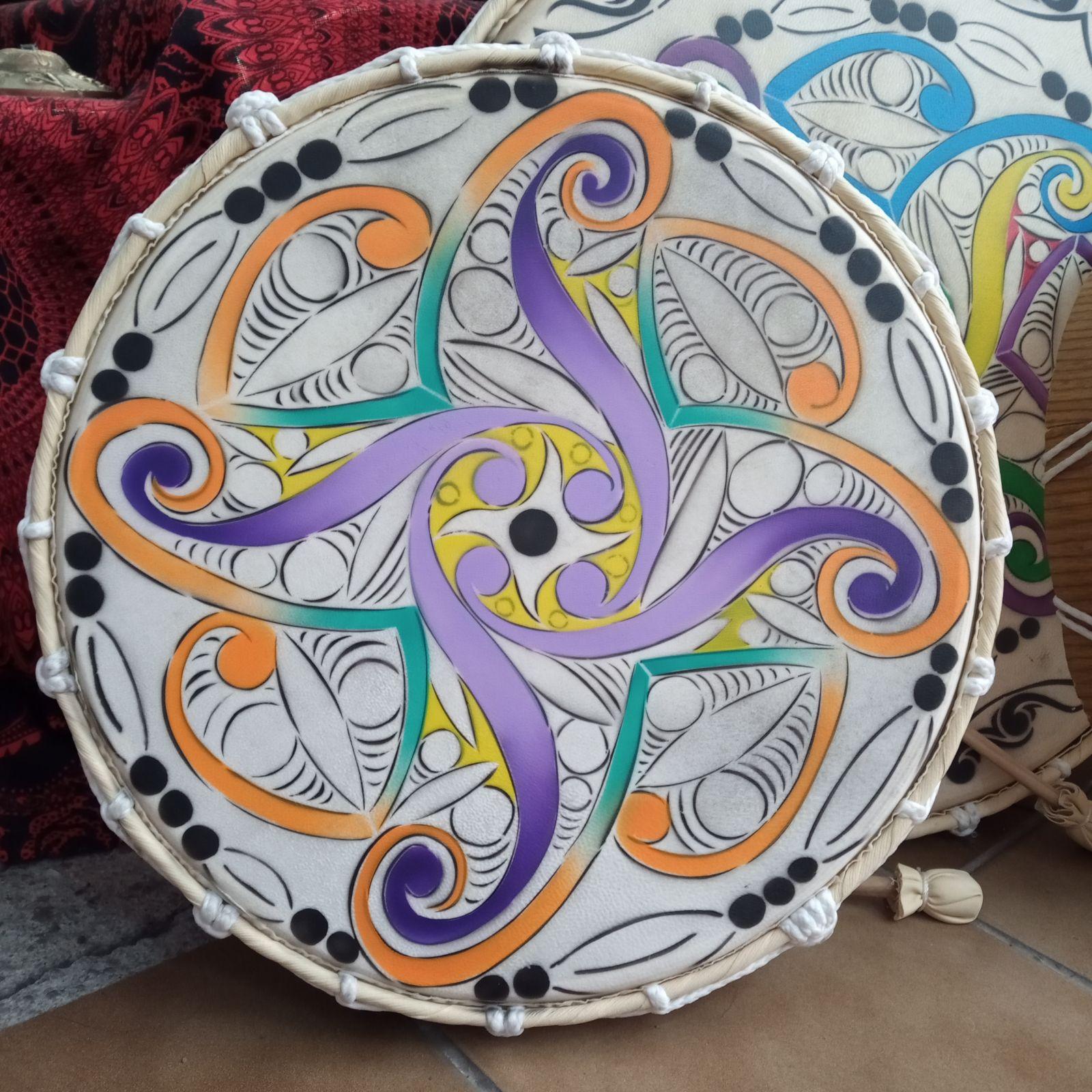 Tamburo a cornice celtica Indonesia