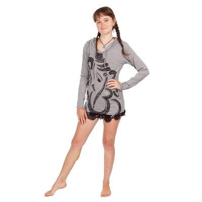 T-shirt con cappuccio da donna Sure Elephant Grey | S, M, L, XL