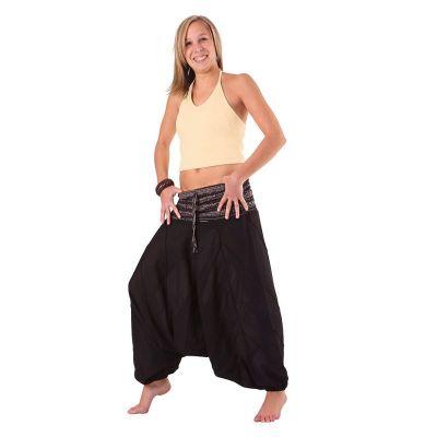 Pantaloni Perempat Hitam | UNISIZE