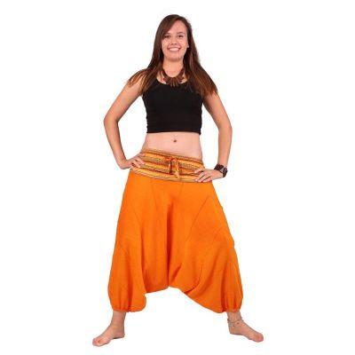 Pantaloni harem Perempat Jeruk | UNISIZE, XS